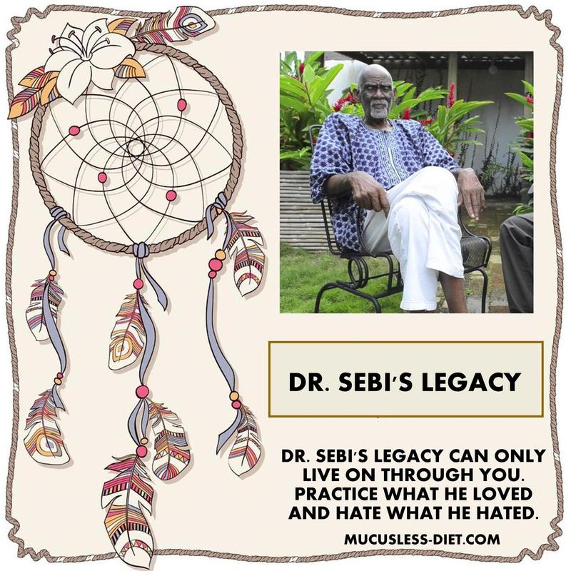 How Dr  Sebi Saved My Life - THE ORIGINAL MUCUSLESS DIET